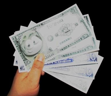 キッザニア通貨「キッゾ」