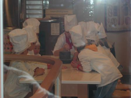 キッザニア パン屋さん